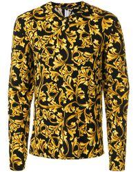 Versace - Printed Pyjama Top - Lyst