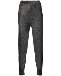 T By Alexander Wang - Stretch Ribbed Cuff leggings - Lyst