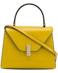 Valextra - Mini Iside Brushed Leather Bag - Lyst