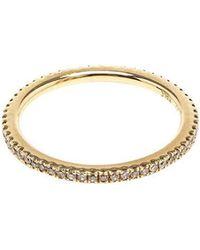 Rosa De La Cruz - Gold And Diamond Midi Ring - Lyst