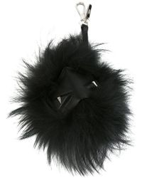 Fendi - Feather Keyring - Lyst