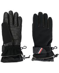 Moncler Grenoble Padded Logo Plaque Gloves