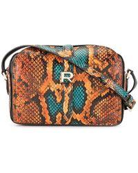 Rochas - Snakeskin-effect Mini Bag - Lyst
