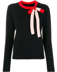 Chinti & Parker - Contrasting Bow Tie Sweater - Lyst