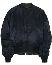Juun.J - Embroidered Layered Bomber Jacket - Lyst