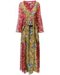 Anjuna - Floral Print Bohemian Dress - Lyst