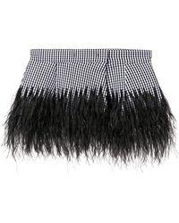 N°21 - Check Feather Peplum Belt - Lyst