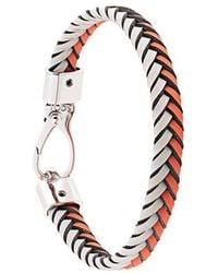 Tod's - Braided Bracelet - Lyst