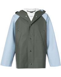 Marni - Hooded Matte Jacket - Lyst