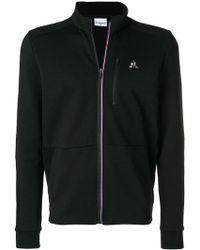 Le Coq Sportif - Logo Zipped Sweatshirt - Lyst