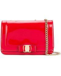 Ferragamo - Vara Essential Flap Bag - Lyst