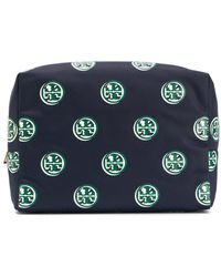 Tory Burch - Brigitte Printed Large Cosmetic Case - Lyst