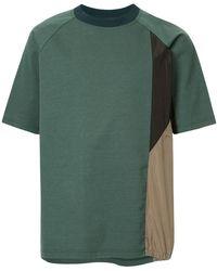 Kolor - Colour Block T-shirt - Lyst