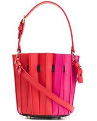 Sara Battaglia - Mini Fitted Bucket Bag - Lyst