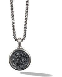 David Yurman - St. Christopher Amulet Necklace - Lyst