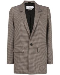 Closed - Tweed Fitted Blazer - Lyst