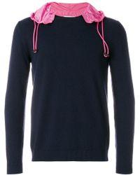 Valentino   Contrast Hood Sweater   Lyst