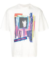 c264ded6bcf Lyst - Gucci Men s Future Printed T-shirt In Off-white in White for Men