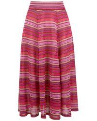 Cecilia Prado - Knit Midi Betina Skirt - Lyst