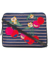 Lizzie Fortunato | Cherry Patch Clutch Bag | Lyst