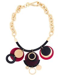 Marni - Horn Disc Pendant Necklace - Lyst