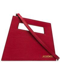 Jacquemus - Red Le Petit Diag Bag - Lyst