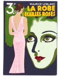 Olympia Le-Tan - Clutch estilo libro La Robe D'Ecailles Roses - Lyst