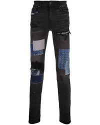 Amiri - Patchwork Skinny Jeans - Lyst