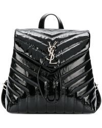 Saint Laurent - Small Loulou Backpack - Lyst