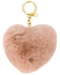 MICHAEL Michael Kors | Heart Shaped Keyring | Lyst