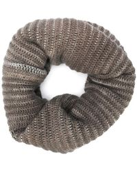 Avant Toi - Chunky Rib Knit Snood - Lyst