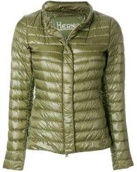 Herno - High Neck Down Jacket - Lyst