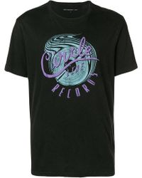 John Varvatos - Circle Records T-shirt - Lyst