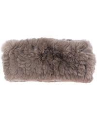 Yves Salomon - Rabbit Fur Headband - Lyst