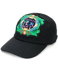 Versace   Logo Patch Cap   Lyst