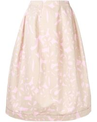 Marni - Printed Full Skirt - Lyst