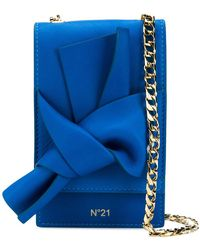 N°21 - Knot Front Cross Body Bag - Lyst