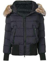Peuterey - Fur Trimmed Puffer Jacket - Lyst
