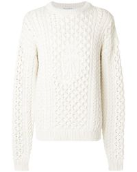 J.W. Anderson | Cable Knit Sweater | Lyst