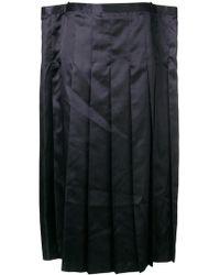 Junya Watanabe - Midi Pleated Skirt - Lyst