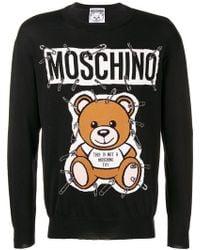 Moschino - Teddy Bear Knit Jumper - Lyst