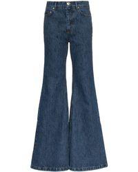 Matthew Adams Dolan Ultra-flared Denim Jeans