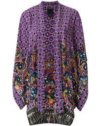 Anna Sui - Fringed Kimono - Lyst