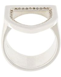 Ambush - Diamond Crest Ring - Lyst