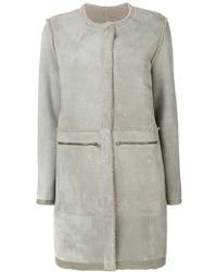 Sprung Freres - Shearling Coat - Lyst
