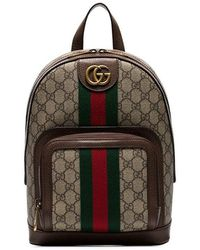 78b9fea1a949 Gucci Gg Nylon Backpack From The Viaggio Collection in Gray for Men ...