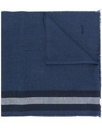 Bally - Striped Knit Scarf - Lyst