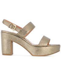 L'Autre Chose - Double Strap Court Sandals - Lyst