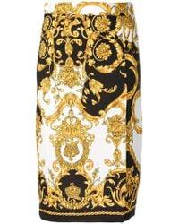 P.A.R.O.S.H. - Falda de tubo estampada - Lyst