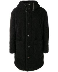 DSquared² - Wool Hooded Coat - Lyst